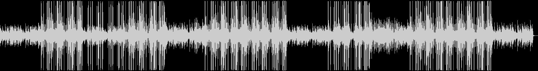 ピアノフレーズが印象的なトラップビートの未再生の波形