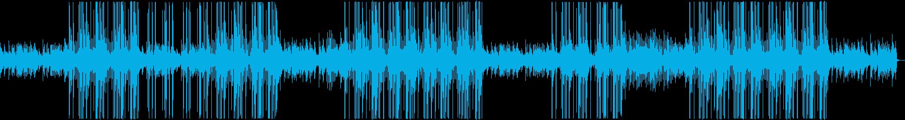 ピアノフレーズが印象的なトラップビートの再生済みの波形