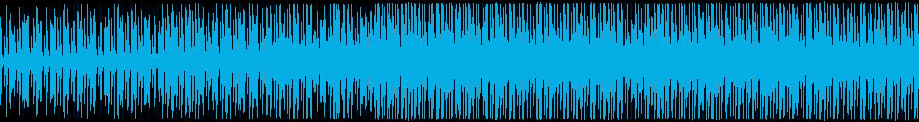明るいほのぼのアンサンブルの再生済みの波形