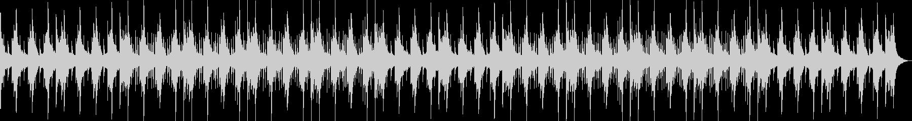 哀愁感・切ない・ローファイ・ヒップホップの未再生の波形