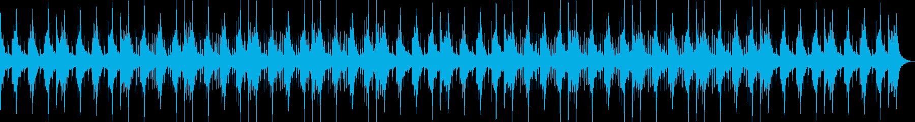 哀愁感・切ない・ローファイ・ヒップホップの再生済みの波形