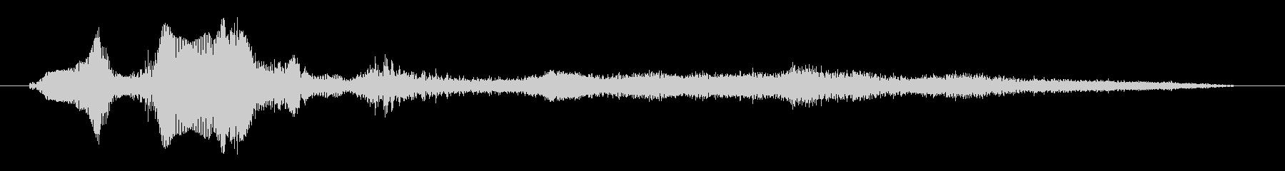 モンスター ダイ03の未再生の波形