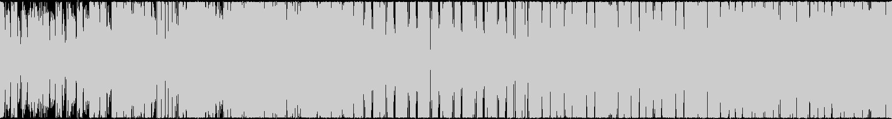 海・おしゃれ・さわやか・ループ音源の未再生の波形