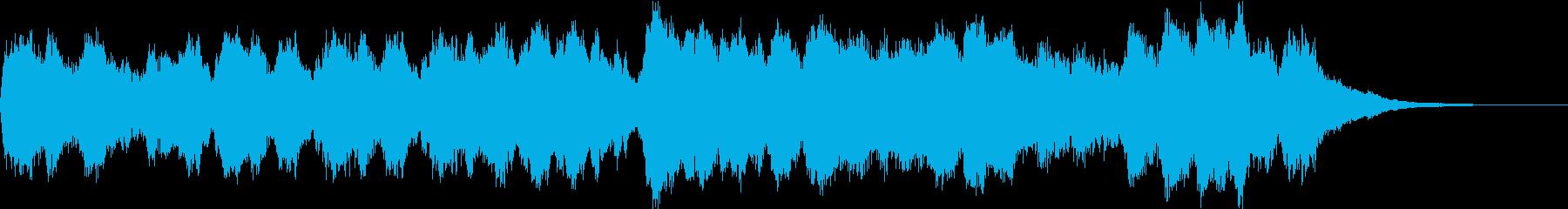 チャイコフスキー 段々盛り上がるの再生済みの波形