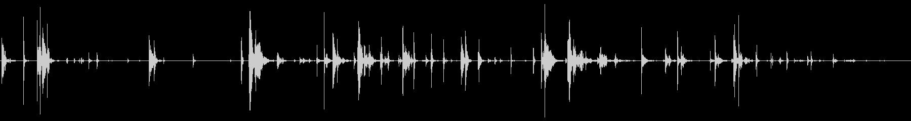アスファルト、ガン弾丸跳弾、弾丸フ...の未再生の波形