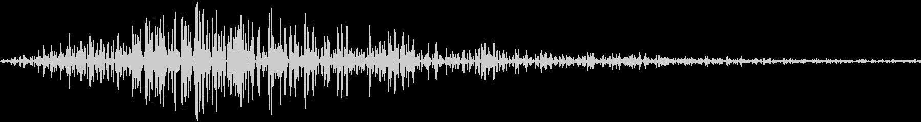 クリック、ボタン音(ピャッ)の未再生の波形