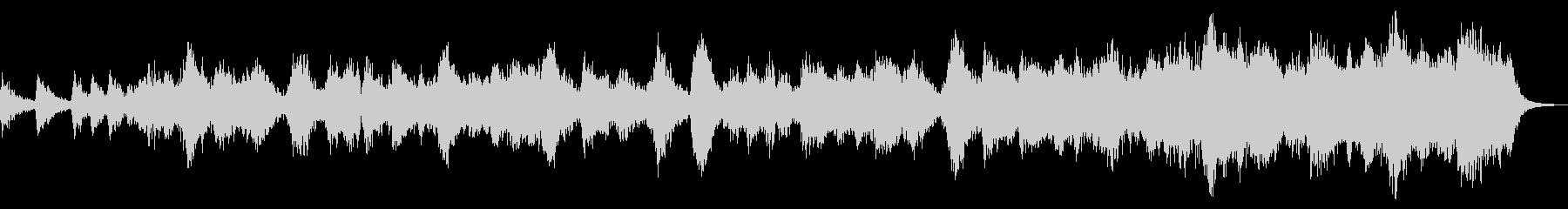 壮大なエレクトロアンビエントなBGMの未再生の波形