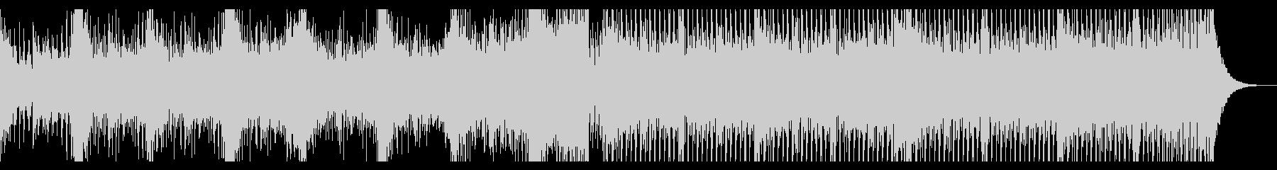 壮大なシネマティックエレクトロの未再生の波形