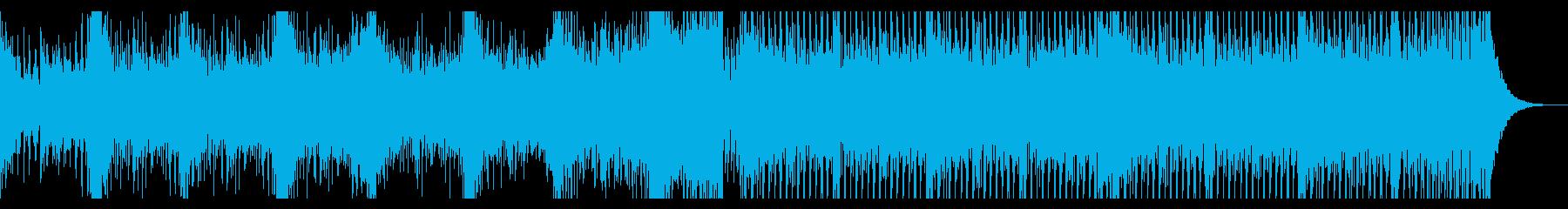 壮大なシネマティックエレクトロの再生済みの波形