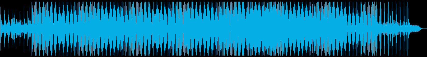 ジャジーなLo-Fi アナログノイズ有りの再生済みの波形