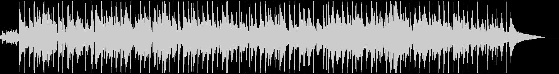 かわいい鉄琴メロの童謡「お正月」ウクレレの未再生の波形