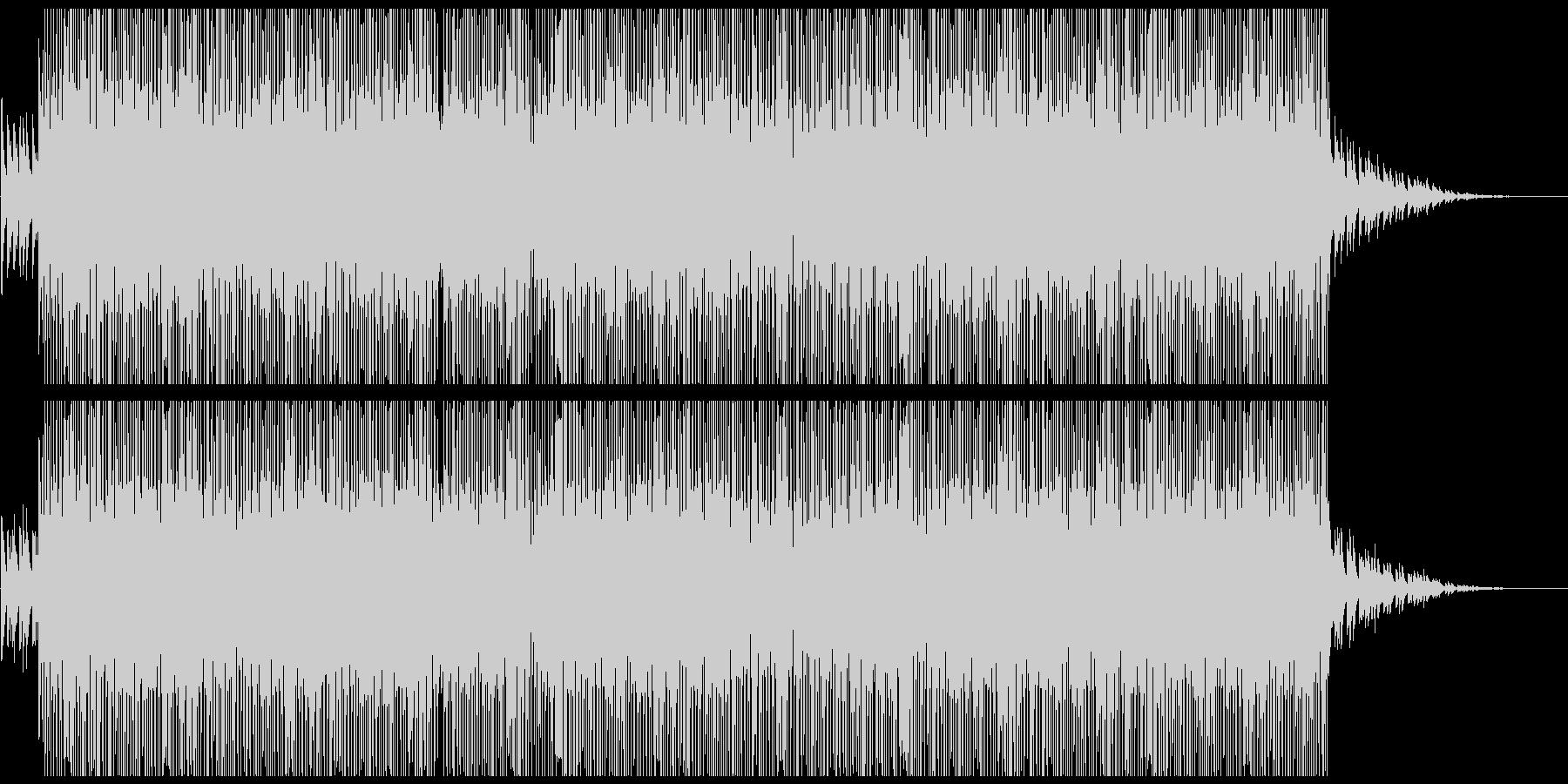 切ないピアノ系HIPHOPトラックの未再生の波形