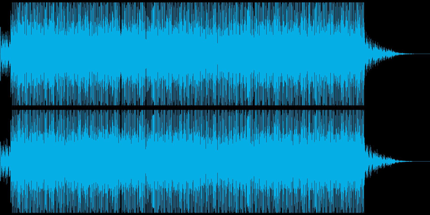 切ないピアノ系HIPHOPトラックの再生済みの波形