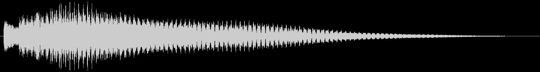 ポロリローン(ベルチャイム)の未再生の波形