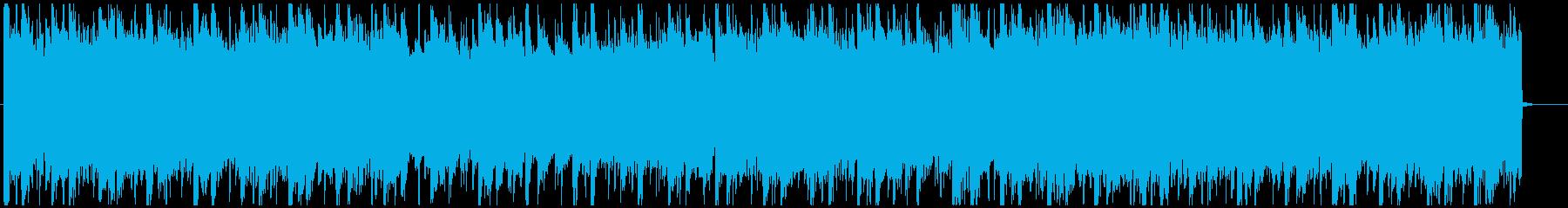 優しいサウンドのR&B調バラードの再生済みの波形