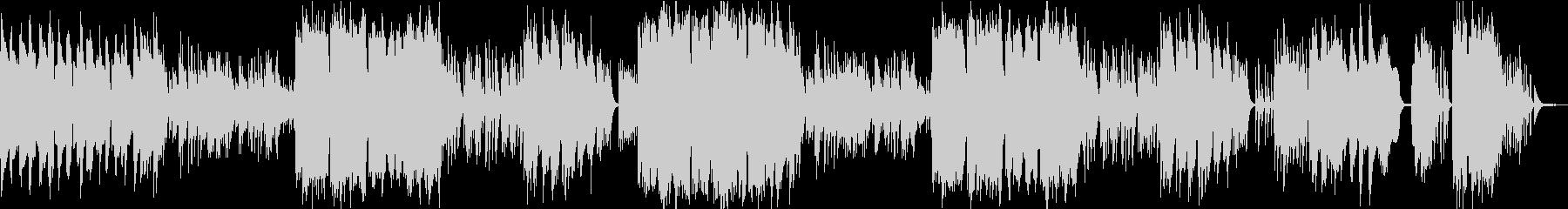 ケルトの笛とハープのやわらかな曲6の未再生の波形