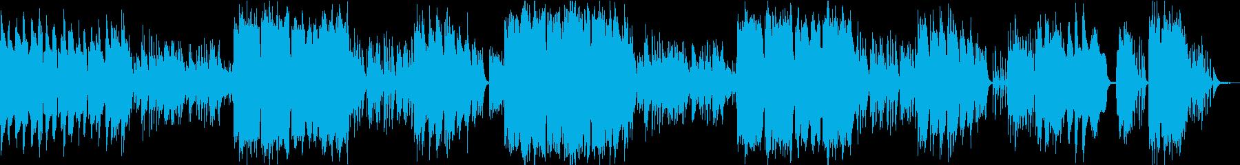 ケルトの笛とハープのやわらかな曲6の再生済みの波形