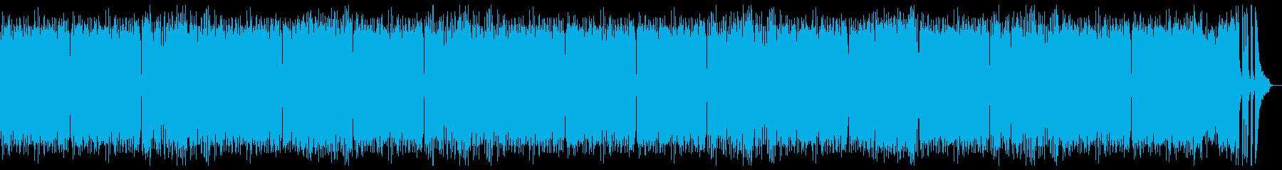 モーツアルト風の優しいピアノ:フル2回の再生済みの波形