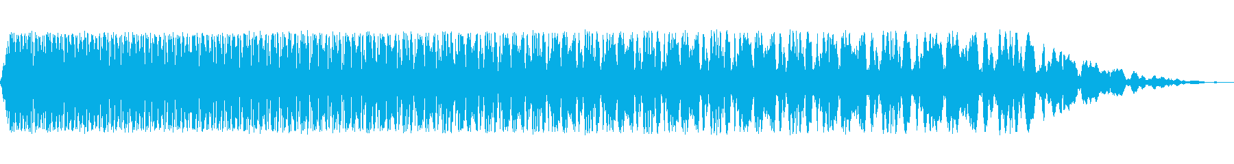 ウィンドダウンディスソルブ2の再生済みの波形