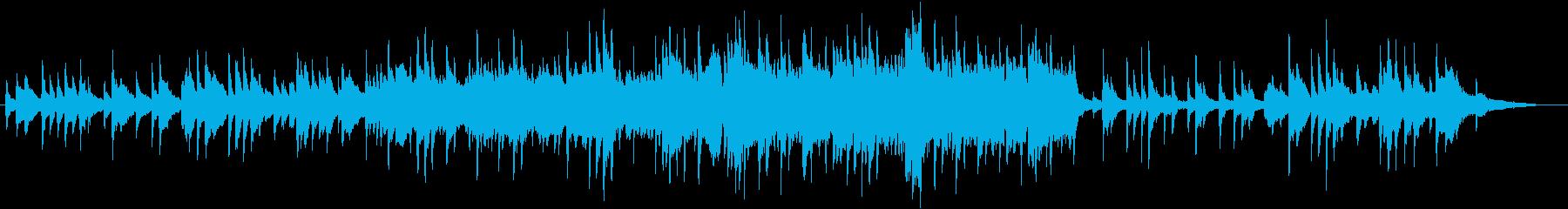 切なくドラマティックなピアノサウンドの再生済みの波形