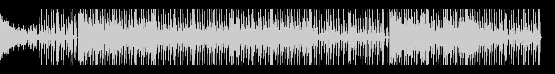 【パターン2-2】明るく元気なポップスの未再生の波形