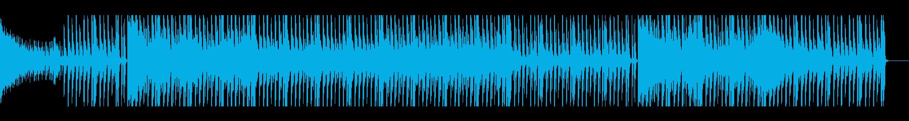 【パターン2-2】明るく元気なポップスの再生済みの波形