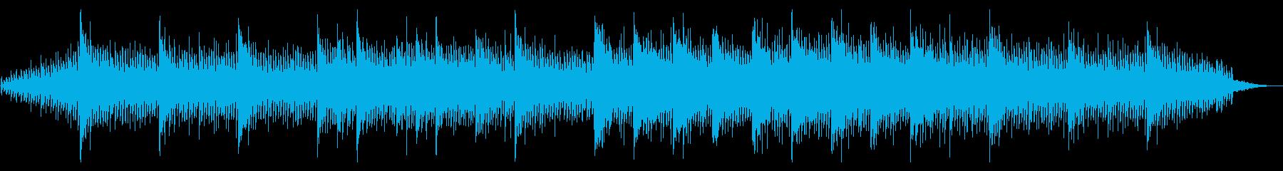透明感癒しヒーリングアンビエントの再生済みの波形