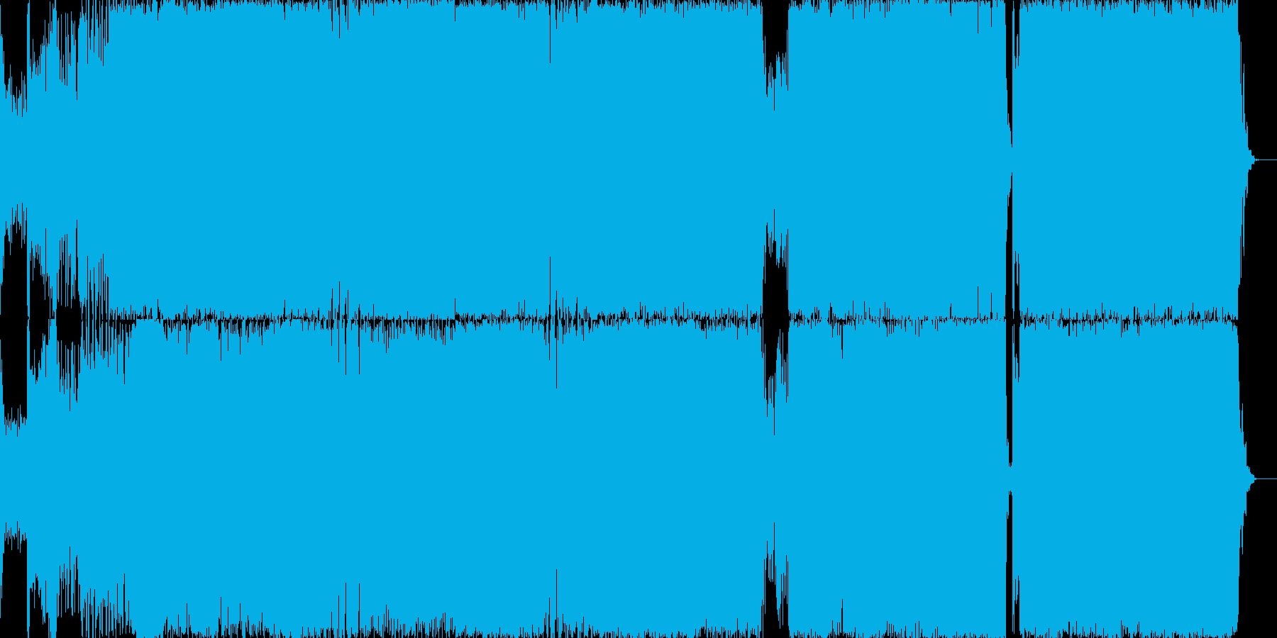 ノリノリ、アゲアゲのBGM EDM風。の再生済みの波形