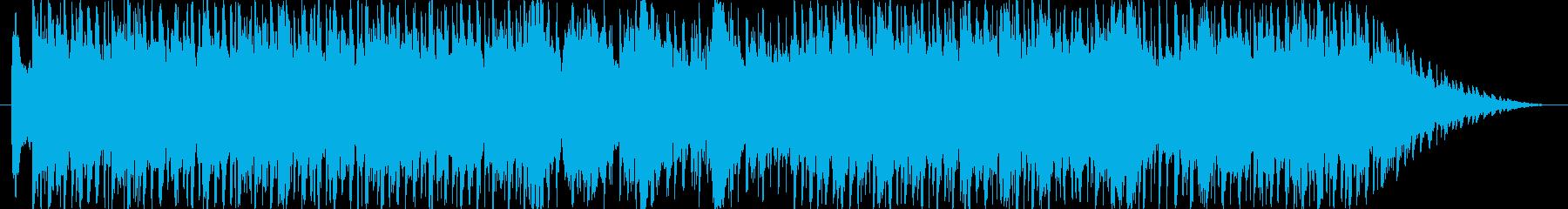 和楽器とトランスの融合した楽曲です。の再生済みの波形