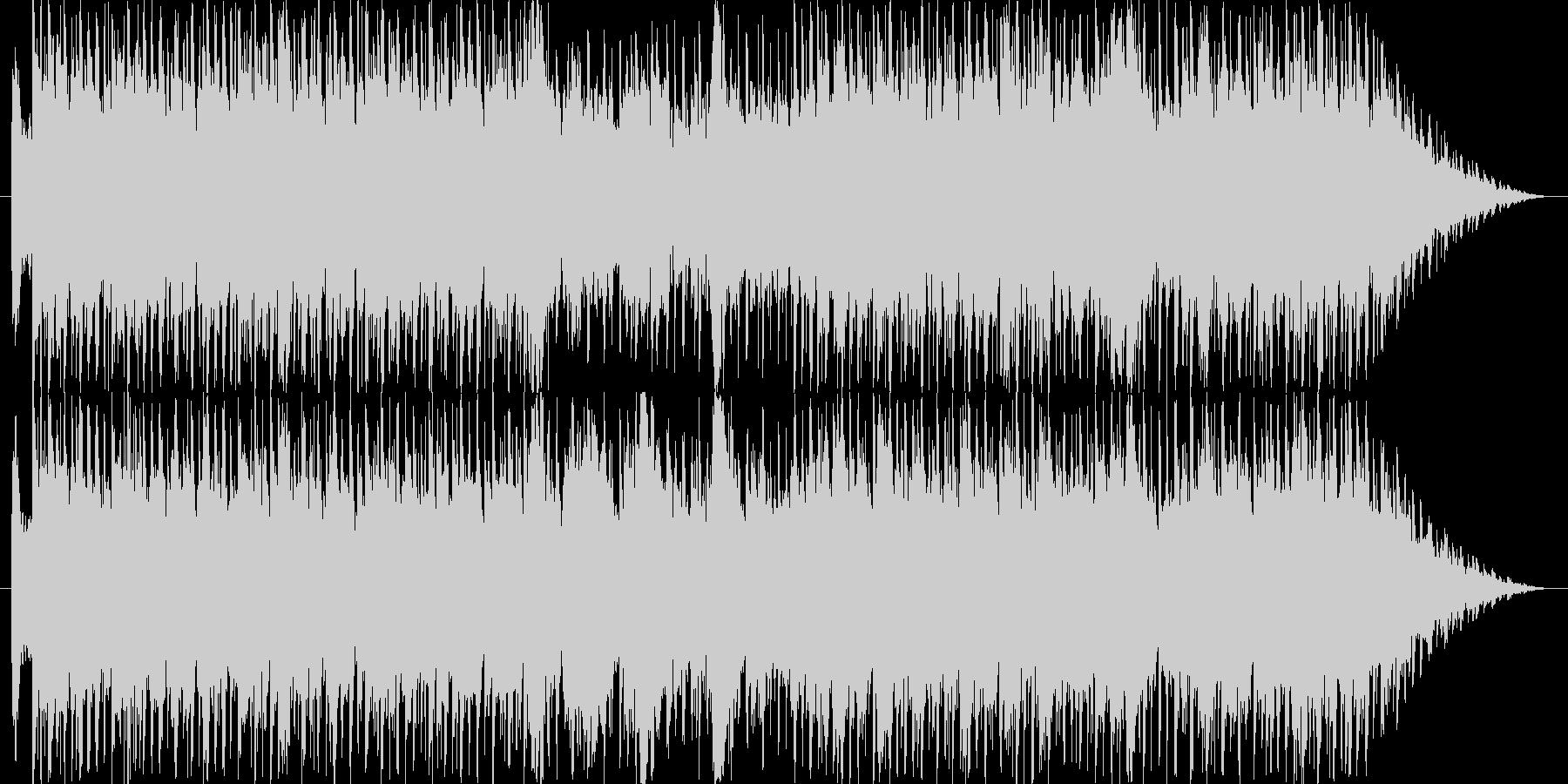 和楽器とトランスの融合した楽曲です。の未再生の波形