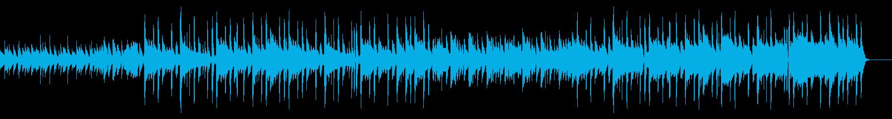 少し間抜けなゆるい日常系BGMの再生済みの波形