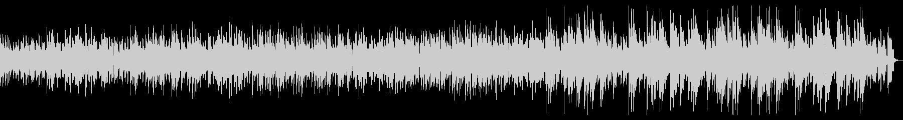 ピアノによるしっとりバラードジャズの未再生の波形