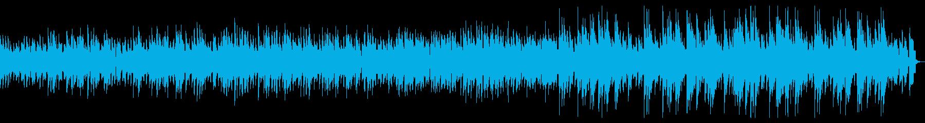 ピアノによるしっとりバラードジャズの再生済みの波形