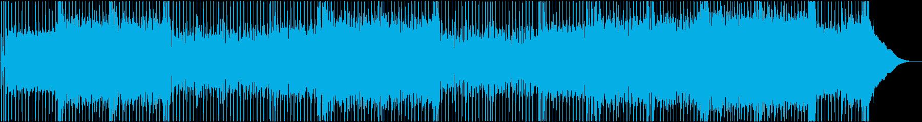 Heat Upの再生済みの波形