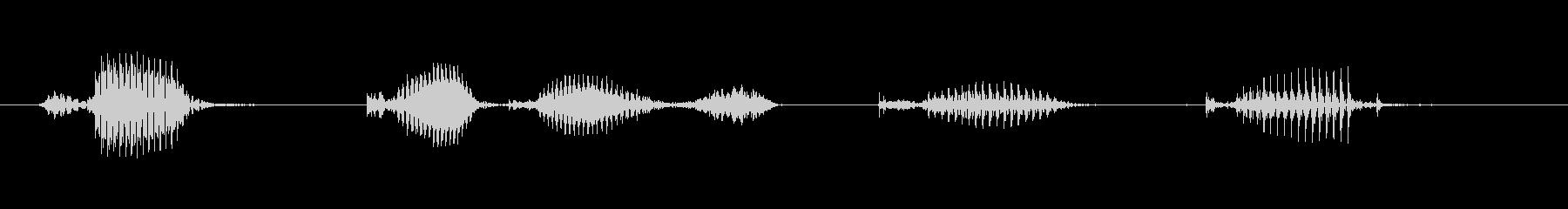 【日数・経過】6ヶ月経過の未再生の波形