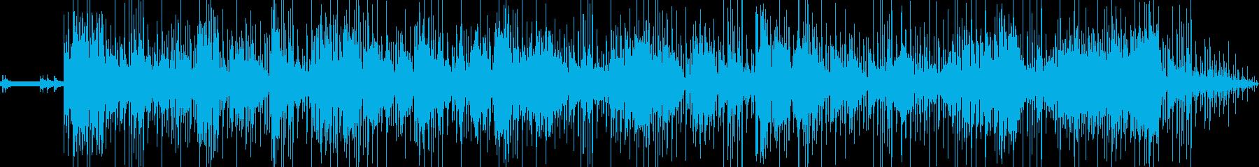 トラベルチャンネル、ディスカバリー...の再生済みの波形