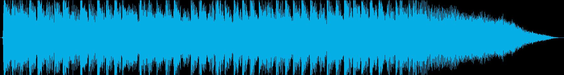 エネルギッシュな重めロックの再生済みの波形