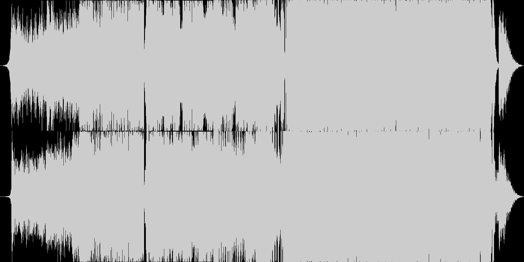 イベント等のオープニング曲としての未再生の波形