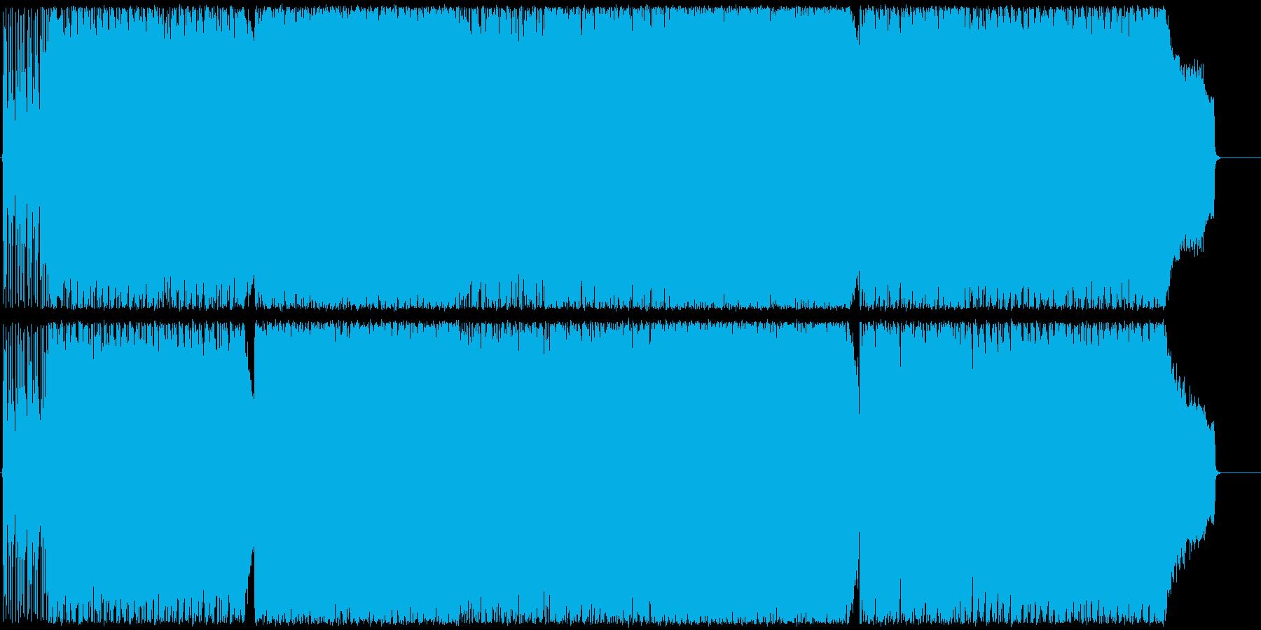 U4の再生済みの波形
