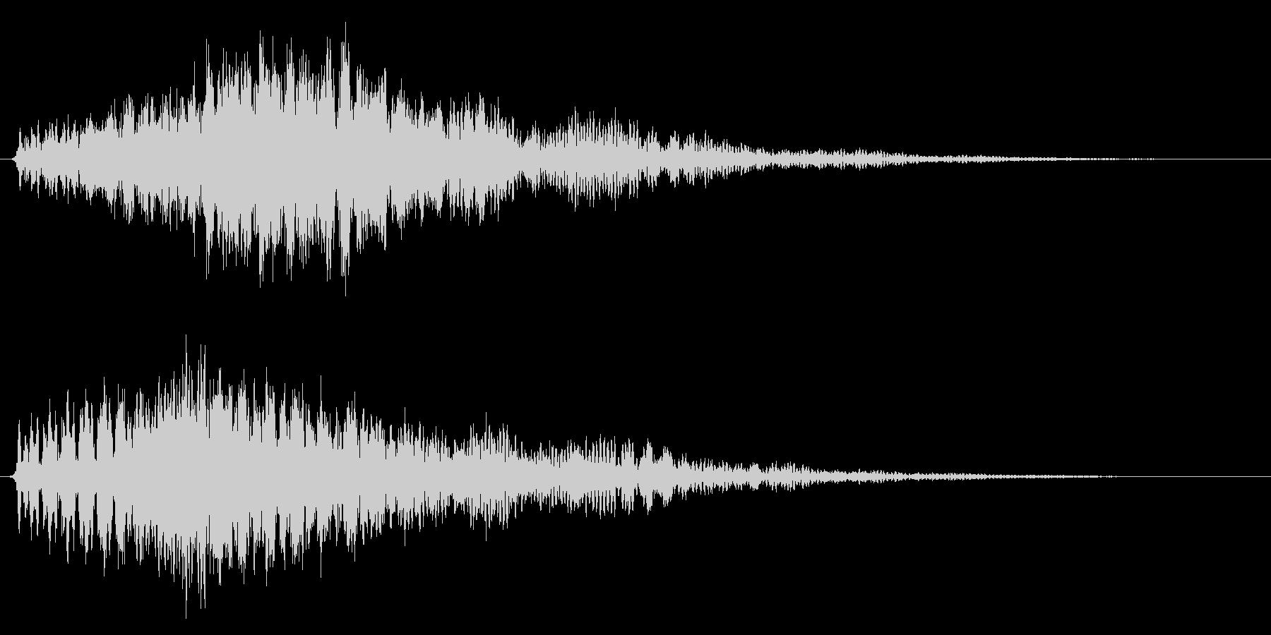 魔法/ワープ/ファンタジー系の未再生の波形
