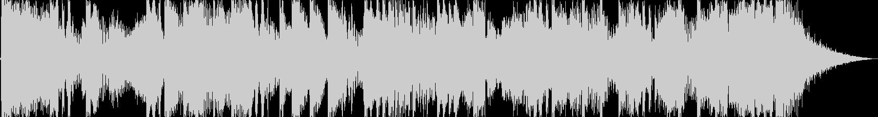 15秒のダブステップ・ストリングスの未再生の波形
