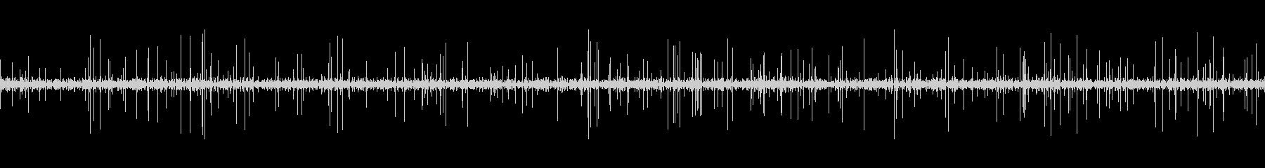 ループ再生可能!3分間のレコードノイズの未再生の波形