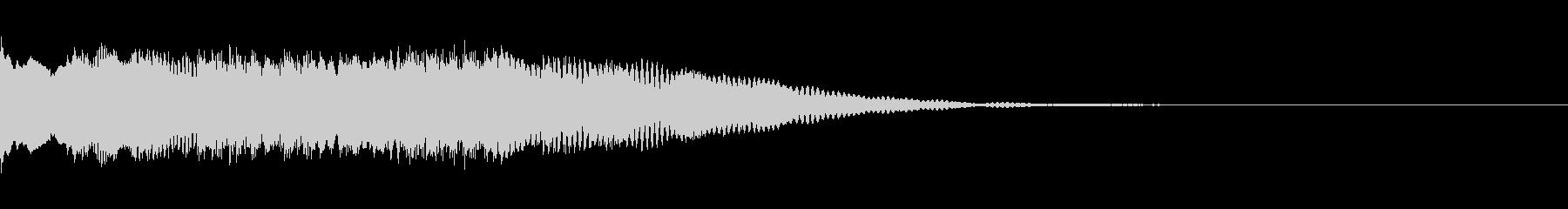 起動音、お知らせ、チャイム、ご案内(↓)の未再生の波形