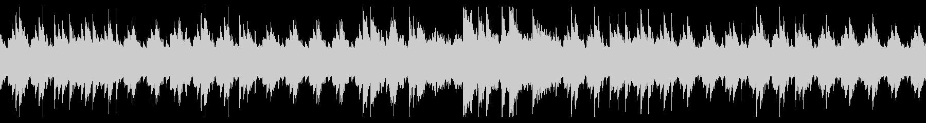 ピアノとバイオリンの悲しいBGM・ループの未再生の波形