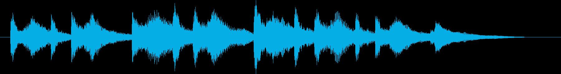 結婚式効果音_ジューンブライド02の再生済みの波形