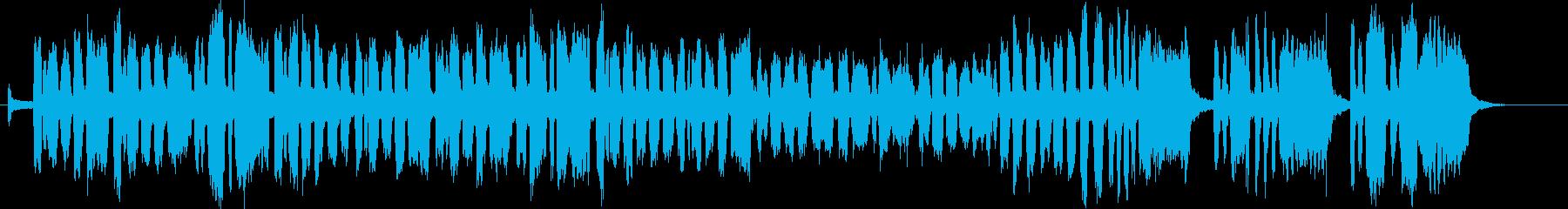 アメリカ国歌 「星条旗」 ブラスバンドの再生済みの波形