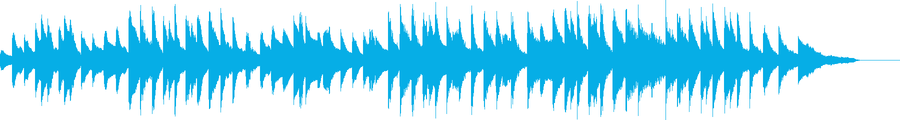 展覧会の絵:プロムナード(原曲)の再生済みの波形