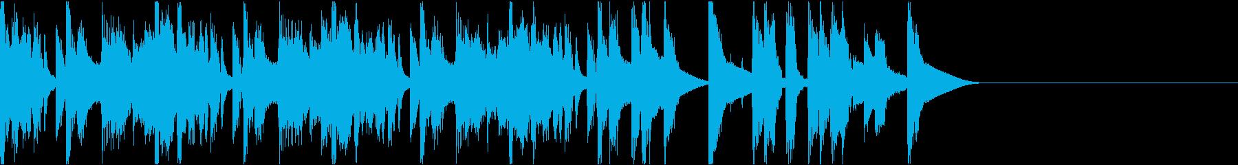 おしゃれイケイケ/ジングルの再生済みの波形