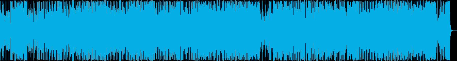 ファンキーな雰囲気のポップス3の再生済みの波形