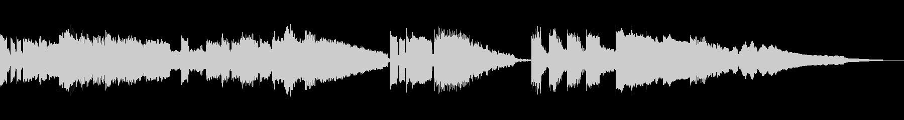 Julian lage的なブルースジャズの未再生の波形